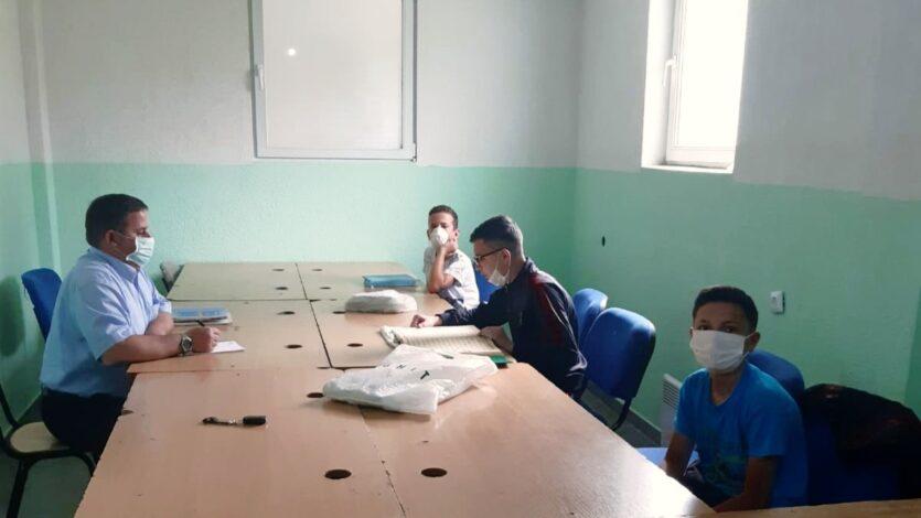 Komisioni për Vlerësim të Nxënësve të Mektebeve vizitoi nxënësit e mektebit të Xhamisë së fshatit Llaskarcë