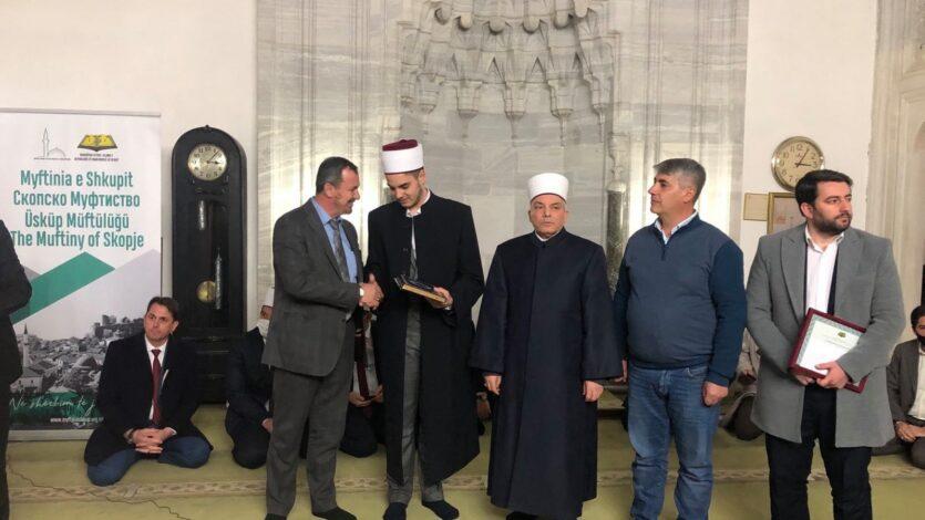 Ceremonia e Hifzit të hafizit të ri Amar Murati